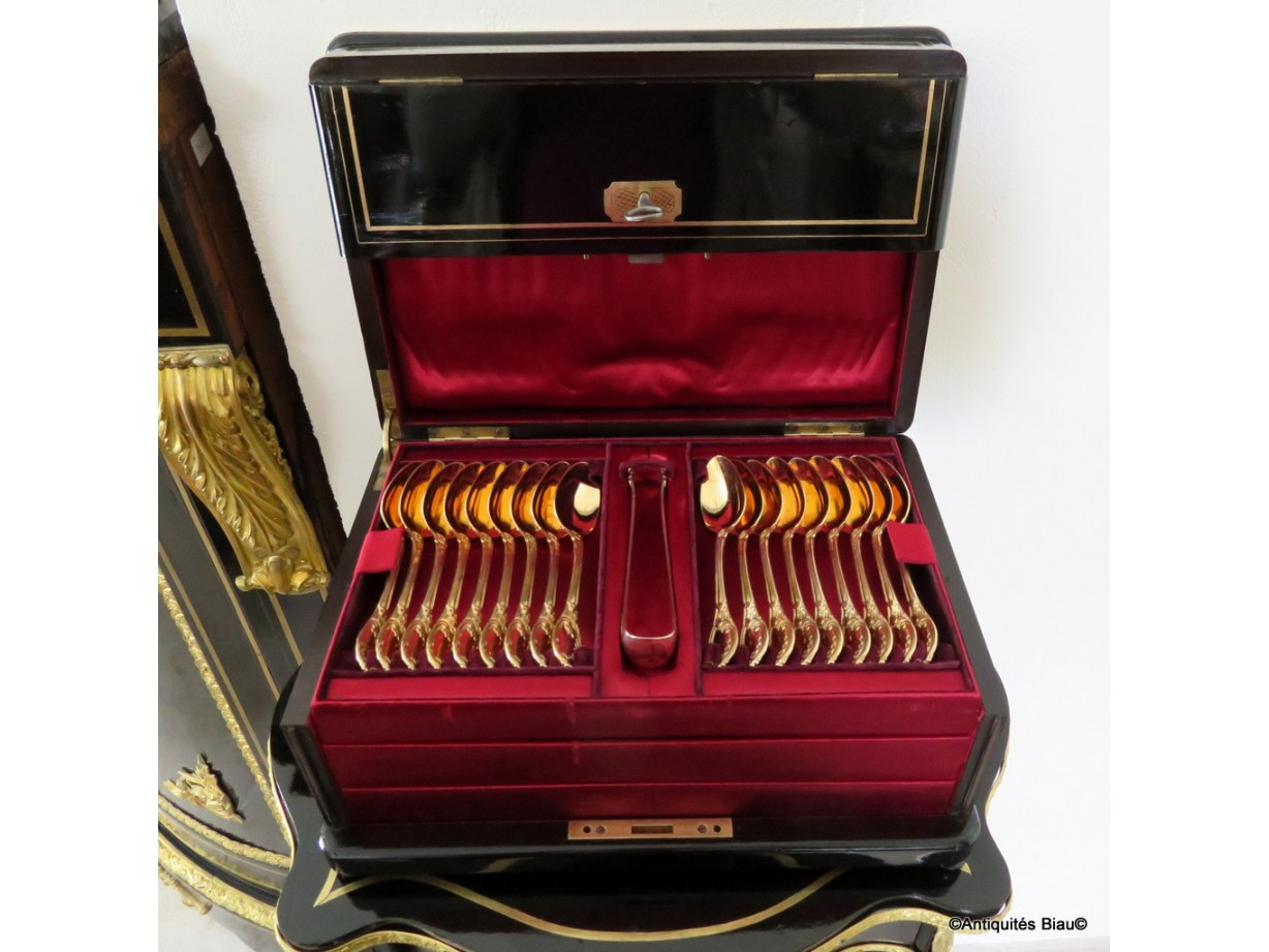 TAHAN Perfum Box in Boulle marquetry 19th