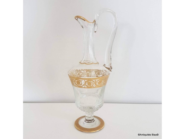 Aiguière St Louis Thistle Or Cristal