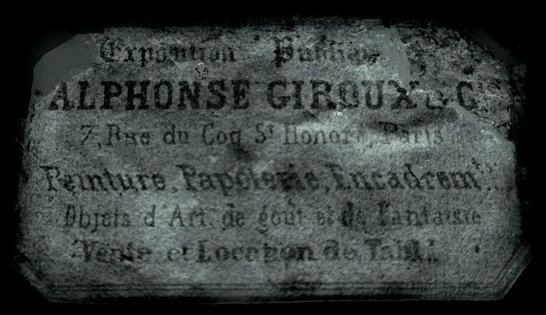 étiquette Giroux