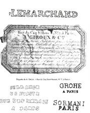 estampilles du XIX