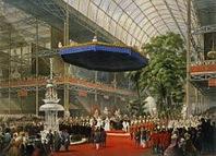Inauguration de l'Exposition 1867